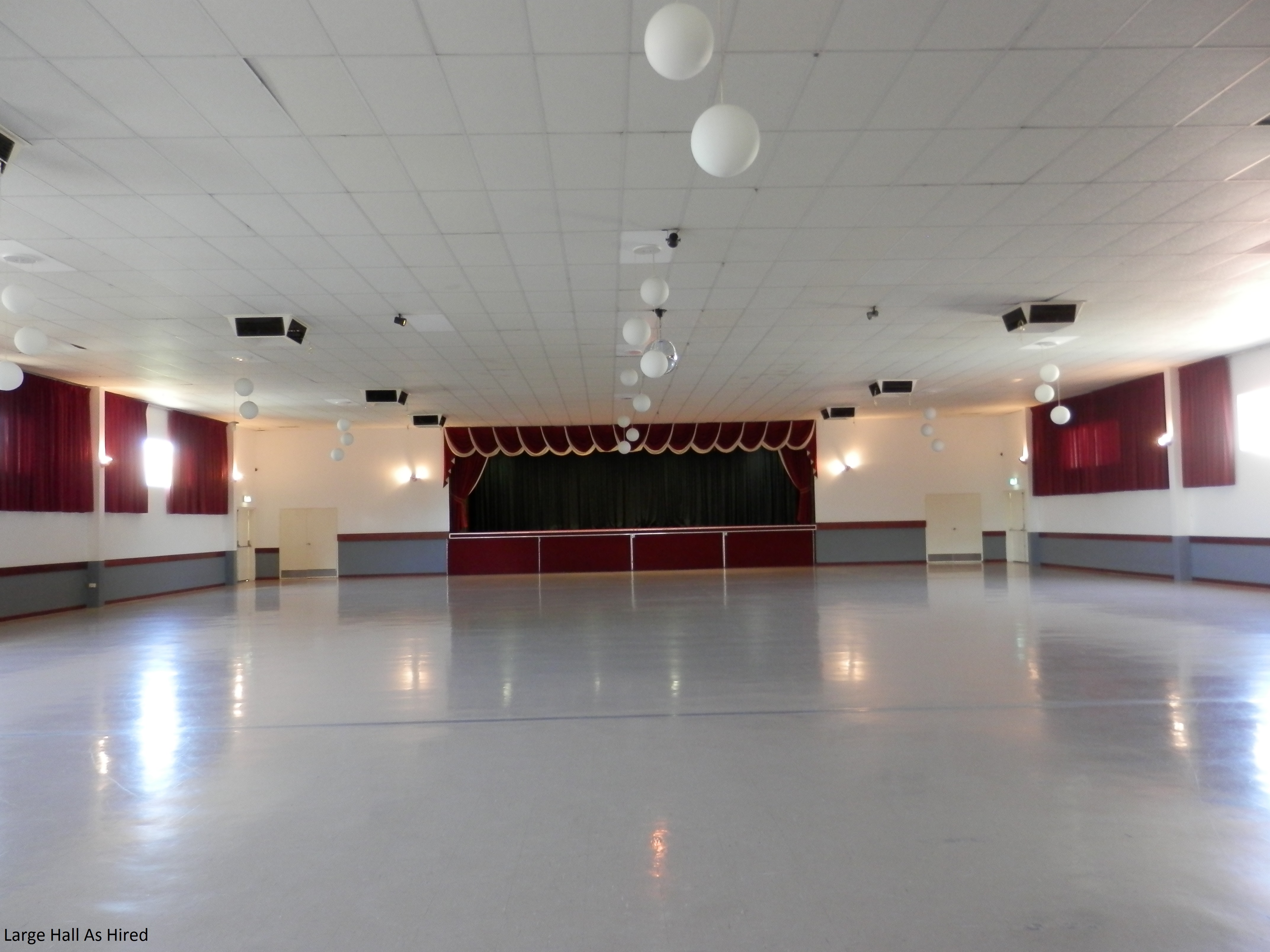 Halls For Hire Large Hall Vasto Club